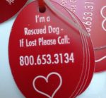 Dog Tag – Rescued