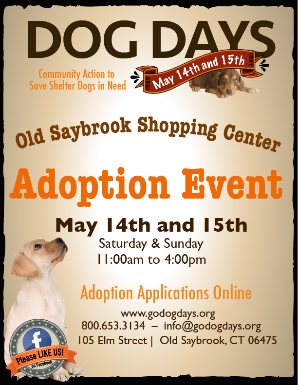 Dog Days Event May 14th And 15th!
