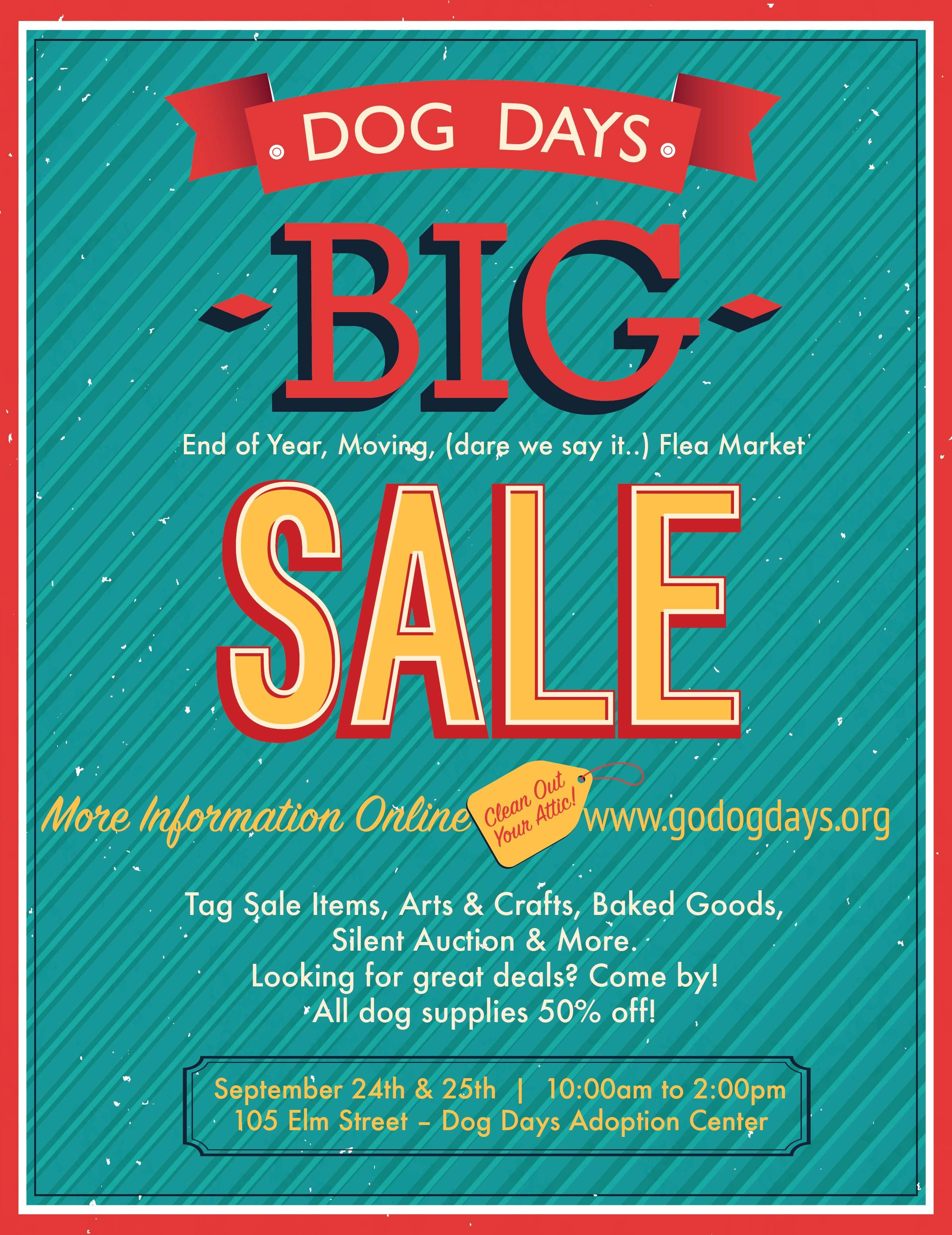 DD BIG Sale Fundraiser